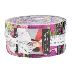 Moda Sweet Pea & Lily Jelly Roll