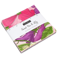 Moda Sweet Pea & Lily Charm Pack