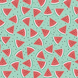 Studio E Summerlicious 4477-66 Watermelon Green/Red
