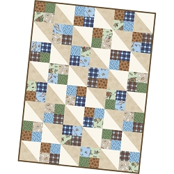 Cozy Cabin Four Square Quilt Pod