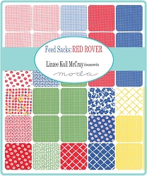 Feed Sacks- Red Rover Fat Quarter Bundle