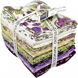 Maywood Studio Aubergine 28 Piece Fat Quarter Bundle