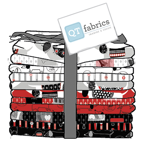 Hot Diggity Dog 11 PC Fat Quarter Bundle