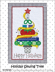 Holiday Sewing Tree by Amy Bradley Designs