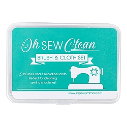Oh Sew Clean Brush & Cloth Set