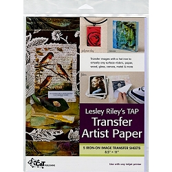 Lesley Riley's Transfer Artist Paper 5ct 8.5
