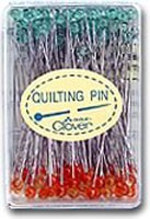 Clover Fine Glass Head Quilting Pins