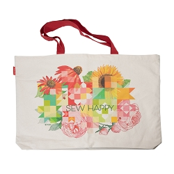 Sew Happy Retreat Tote