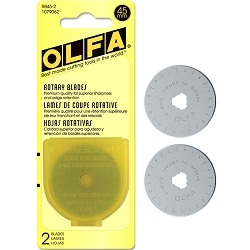 Olfa 45mm Rotary Blades 2 Count