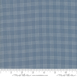 Moda Northport Silky Woven 12215 18 Medium Blue Plaid