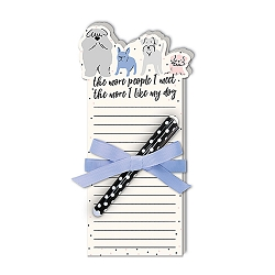 Dog People Notepad w/ Pen