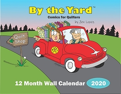 By The Yard 12 Month Wall Calendar 2020