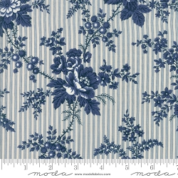 Moda Northport Prints 14880 12 Blue