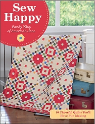 Sew Happy by Sandy Klop of American Jane