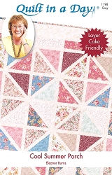 Quilt in a Day Cool Summer Porch Pattern