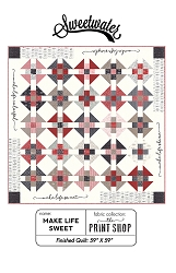 Make Life Sweet Pattern by Sweetwater