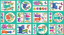 Andover Katie's Cats TP-2352-1 Panel