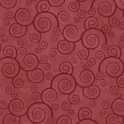 Quilting Treasures Harmony Curly Scroll Paprika