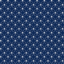Danbury Lattice Geo Navy