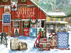 Holiday Quilts 1000PC Puzzle