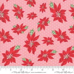 Moda Urban Chiks Sweet Christmas Pink Buttermint 31151 13