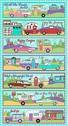 RJR Retro Road Trip Camper Panel 361701
