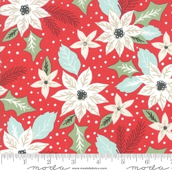 Moda Little Tree Cranberry 5091 13
