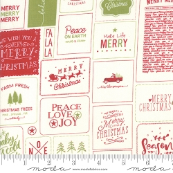 Moda The Christmas Card by Sweetwater 5770 24 Red Green