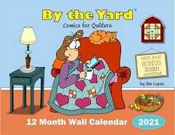 2021 By The Yard 12 Month Wall Calendar