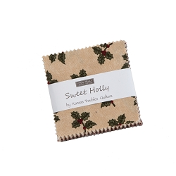 Moda Sweet Holly by Kansas Troubles Mini Charm