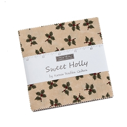 Moda Sweet Holly by Kansas Troubles Charm Pack
