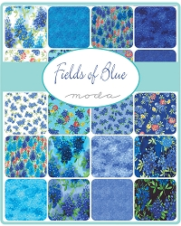 Moda Fields of Blue Charm Pack