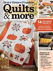 Quilts & More Magazine Fall 2020