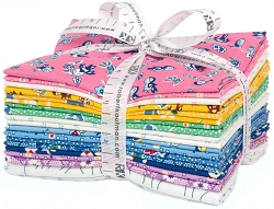 Kaufman Naptime 18 PC  Fat Quarter Bundle