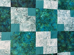 Lagoon 3 Yard Quilt Kit **PATTERN SOLD SEPARATELY**