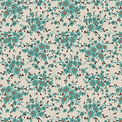 Art Gallery Spirited 85225 Calico Days Aqua