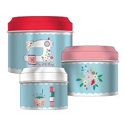 Beverly Mccullough Sewing Canister Set