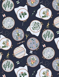 Dear Stella Sew On & Sew Forth 1807 Embroidery Hoops Patriot