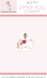 Zipper Pull Charm Kitty Cat