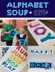 Alphabet Soup Book by Jaybird Quilts