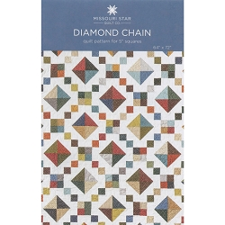 Missouri Star Quilt Diamond Chain Pattern