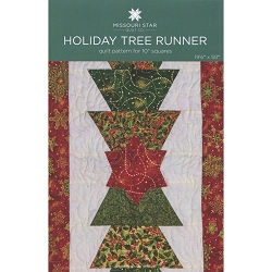 MSQC Holiday Tree Runner Pattern