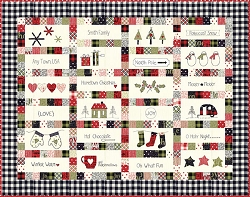 Hometown Christmas Pattern by Sweetwater