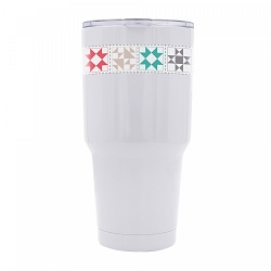 My Happy Place Insulated Tumbler by Lori Holt