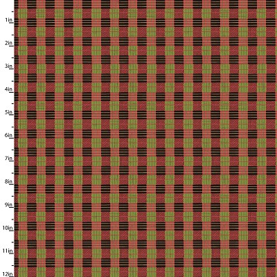 Quilter's Palette Holly Jolly Plaid 13856-MULTI