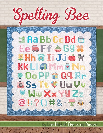 Spelling Bee by Lori Holt of Bee in my Bonnet