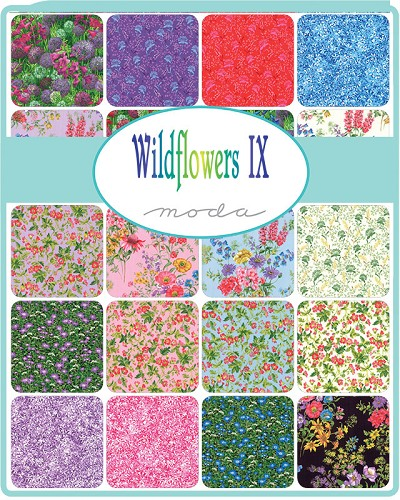 Wildflowers IX Charm Pack