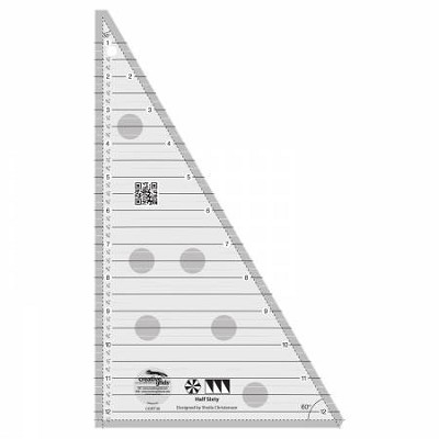 Creative Grids Half Sixty Triangle Ruler